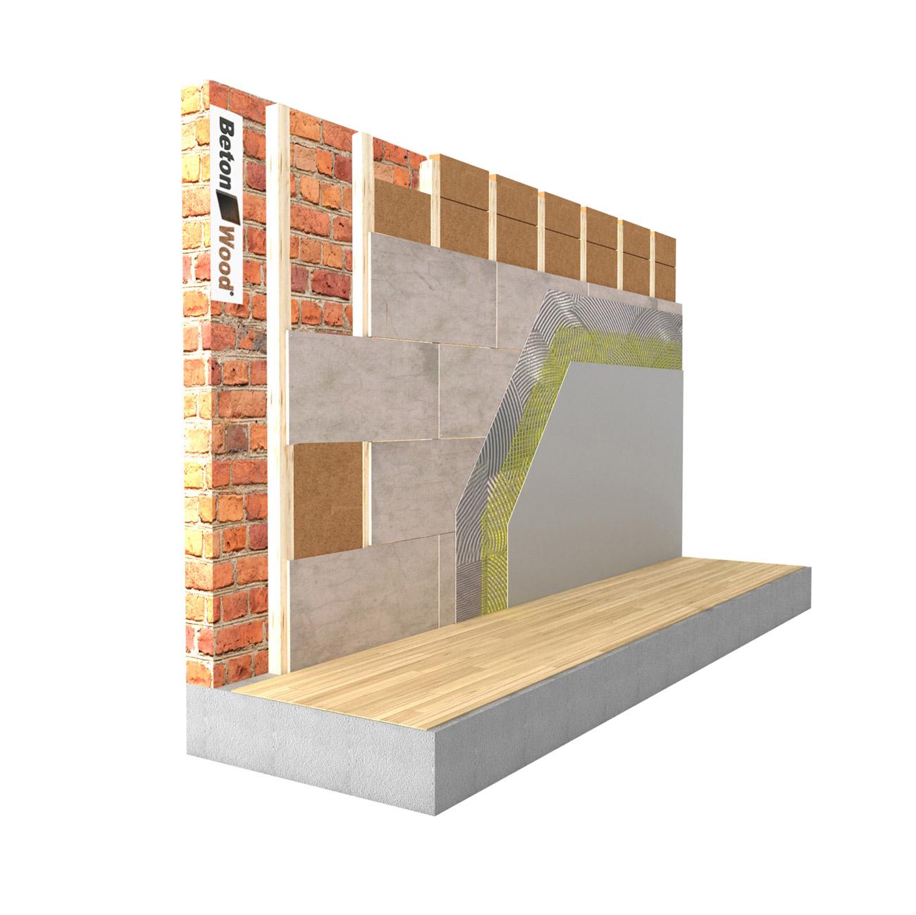 Fibra di legno prezzi fibertherm internal - Rivestire parete con legno ...